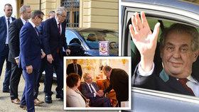 Bez fanfár a opulentní párty: Hrad prozradil, jak bude Zeman slavit 76. narozeniny