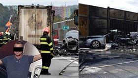 Kamioňák Milan sešrotoval na D1 auto s maminkou i synkem (†1): Přátelé na něj vyhlásili veřejnou sbírku, lidé zuří