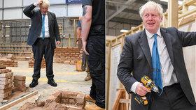 """""""Neschopný"""" premiér se omlouval za zmatky v opatřeních. Nepředvedl se ani v dílně"""