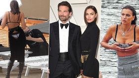 Modelka Šajková a její trik s titěrnou sukní: Tohle jste vidět neměli!