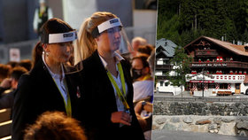 """V alpské """"Ibize"""" kašlali na omezení: Luxusní resort se změnil na obří ohnisko koronaviru"""
