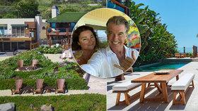 Pierce Brosnan se zbavuje bondovského sídla: Prodává ráj za 2 miliardy!