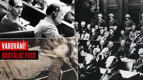 Hrůzné foto z márnice: Takhle skončily nacistické zrůdy! Od Norimberského procesu uplynulo 74 lety