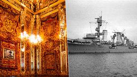 Potápěči objevili na dně Baltského moře německý válečný křižník: Ukrývá Jantarovou komnatu?!