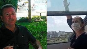Děsivá smrt turisty (†58) v tureckém hotelu: Udusilo ho střešní okno!