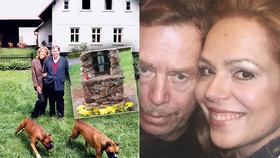 Václav Havel (†75) by slavil 84 let: Boží dar k narozeninám od Dagmar!