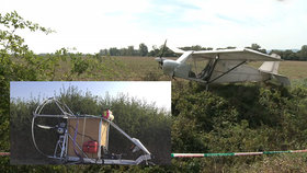 Záhadná přistání letadel na venkově: Jedním patrně přiletěla žena se dvěma malými dětmi