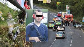 Policistu Pavla (†31) zabila zfetovaná řidička! Na místo tragédie lidé dál nosí svíčky a fotografie