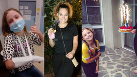 Míša Nosková strachy bez sebe: Dcera po oslavě skončila v nemocnici!