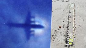 Vyplavilo moře další kus ztraceného letadla MH370? Úlovek Australana vyvolal spekulace