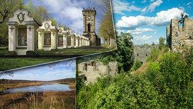 10 tipů na výlet do přírody: Dechberoucí křížová cesta, romantické rybníky i Andělská Hora