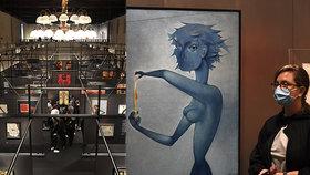 Poprask v Národní galerii: Sběratel Železný stáhl z výstavy 11 Medkových děl. Kvůli chybě v popisku?!