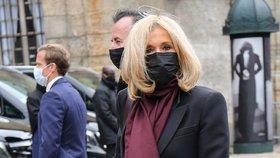 Smutek Brigitte Macronové: Zemřel její exmanžel, se kterým má tři děti