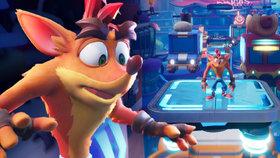 Ztřeštěný vačnatec v ráži! Recenze Crash Bandicoot 4: It's About Time