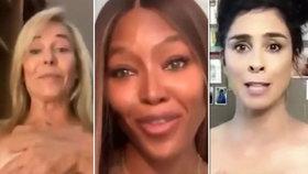 Nahá kampaň pro dobrou věc? Slavné hollywoodské tváře ukázaly poprsí kvůli prezidentovi!