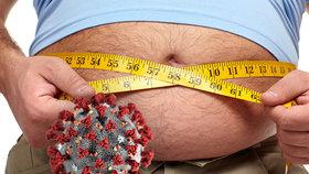 Obézní mají dvakrát vyšší riziko nákazy covidem, varují lékaři. Ani vakcína nemusí pomoci