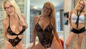 Babička (58) sekla po 17 letech s prací u policie: Stala se pornoherečkou!