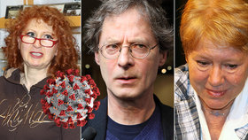 Kretschmerová, Merunková, Hartl, Rychlý a další: 6 herců skoleno covidem v jednom studiu!