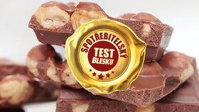 Testovali jsme mléčné čokolády s celými oříšky: Na co si dát při nákupu pozor?