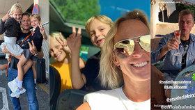 Rodina sexbomby Belohorcové je kompletní! Dojemné setkání s manželem po dlouhé odluce