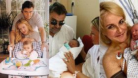 Srovnání porodů Venduly Pizingerové (48): Holka a dva kluci, ale jedna věc stejná!