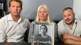 """Boj za osvobození princezny Latify: """"Hlavně to nevzdávej,"""" prosí její bratranec"""