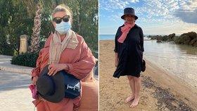 Ochromující bolesti Evy Holubové na dovolené v Itálii: Prý je to infarkt?!