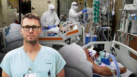 Lékař o boji s covidem: Dobré zprávy? Bohužel. Na nápor pacientů bude třeba hodně sil