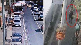 Brutální napadení řidičů autobusu v Říčanech! Schytali rány pěstí do obličeje, útočník utekl