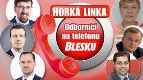 Odborníci na telefonu Blesku už v pondělí: Covid a práva zaměstnance, peníze, exekuce a podnikání
