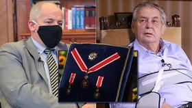 Zeman odsunul vyznamenání 28. října na příští rok. Vydá jen seznam, projev ale bude