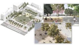 Dialog mezi školou a hřbitovem. Náměstí Jiřího z Lobkovic projde revitalizací