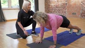 Super tělo s Bleskem pro ženy: Jak správně dělat plank?