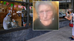 Smutný pohled do domova důchodců: Mary (104) v slzách prosí o setkání se svou rodinou