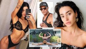 Nádherná Van Dammova dcera slaví 30: Plné rty má po mámě, svaly po tátovi