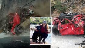 Jeep řítící se z útesu ho minul o centimetry: Posádka přežila, ale...