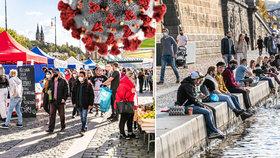 Méně než před týdnem, i tak víc než dost: V Praze je od čtvrtka dalších 1 337 nakažených covidem-19