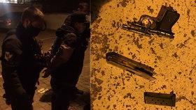 Střelba na Pankráci! Čtyři muži se v noci hádali na zastávce, jeden vytáhl pistoli