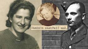 Maminko, zastřelí mě, psala z Terezína Gabčíkova přítelkyně: Její dcera se pravdu dozvěděla po 50 letech