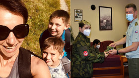 Krutý osud maminky hrdiny Jirky, který šije roušky: Nemocný syn, roztroušená skleróza a náročné operace!