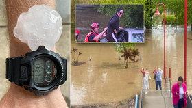 Záplavy, krupobití, silné bouřky a domácnosti bez proudu: Perný týden straší Australany