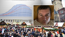 Hamáček s covidem pro Blesk: Vrchol teprve přijde. Na oslavy sametu i vánoční trhy zapomeňte
