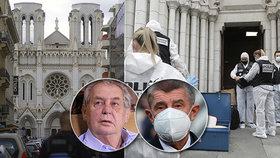 Teror v Nice: Ohavnost a barbarství, zní z Česka. Zeman zmínil fanatiky, Babiš zděšení