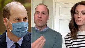 Princ William tajil těžkou nákazu koronavirem! Královská rodina měla strach
