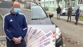 Koronavirus zneužil k obřímu podvodu. Cizinec je obviněn z čerpání téměř čtvrt milionu korun