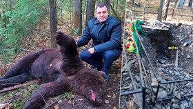 Medvěd vyhrabával mrtvoly z hrobů a požíral je! Šelmu pochutnávající si na nebožtících zastřelili