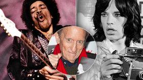 Zemřel legendární fotograf (†83) magazínu Rolling Stone: Fotil Hendrixe nebo nahé hippies