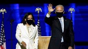 Zvládnutí covidu a léčba Ameriky: Dojatý Biden v projevu nabídl ruku i příznivcům Trumpa