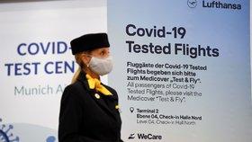 Test před návratem do Česka jen u temně červených zemí. Ministerstvo změnilo podmínky
