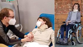 Anežce (31) odmítla pojišťovna hradit léky: Pomohli i čtenáři Blesku, léčba začala
